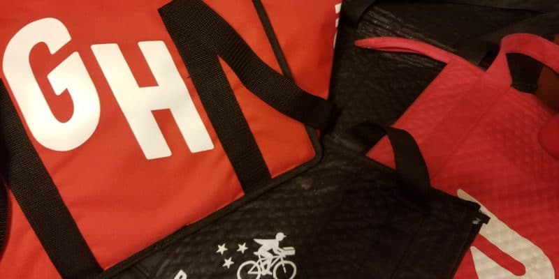 Grubhub, Postmates, UberEats and Doordash Insulated Delivery Bags