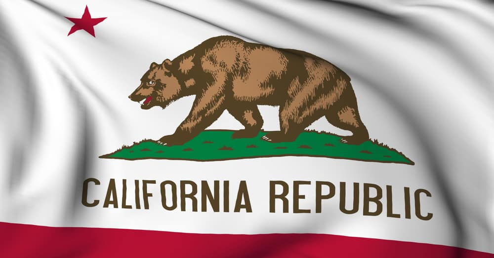 Picture of California state Flag