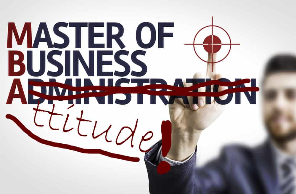 The 31 Day Courier MBA Class helps you Master Your Business Attitude