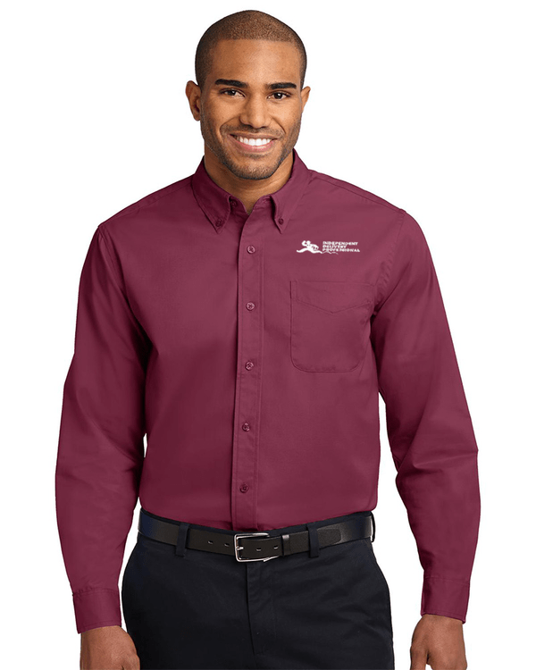 Independent Delivery Professional dress shirt available at the EntreCourier store