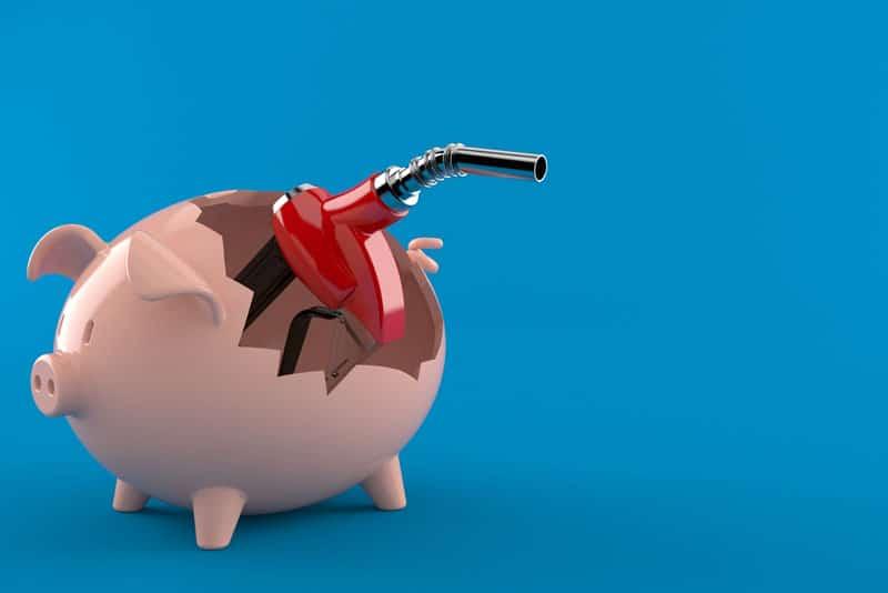 How can we save gas delivering for Grubhub, Doordash, Postmates, Uber Eats, etc?