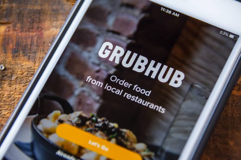 What is it like delivering for Grubhub?