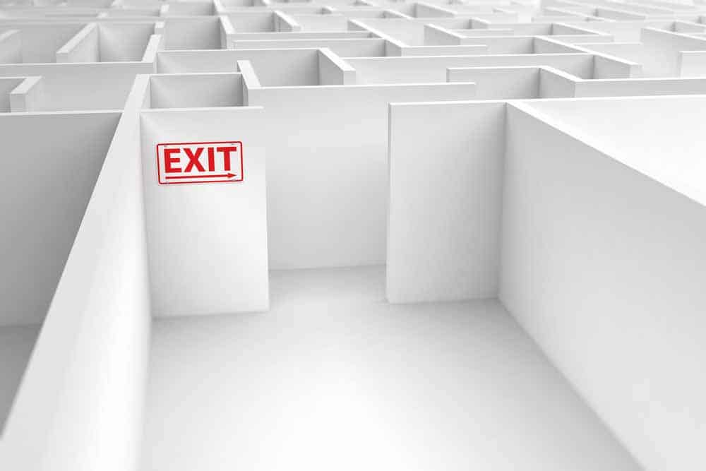 If you quit your job, deliver full time for Doordash, Uber Eats, Grubhub or others full time, what's your exit plan? What will you do next?