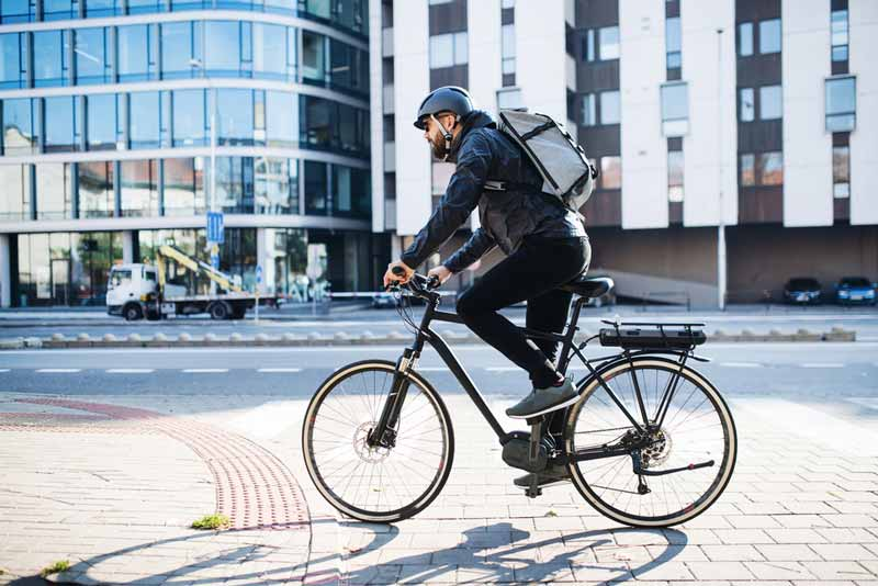 What is it like delivering with an e-Bike for gig economy delivery apps like Grubhub, Doordash, Uber Eats Postmates and others?