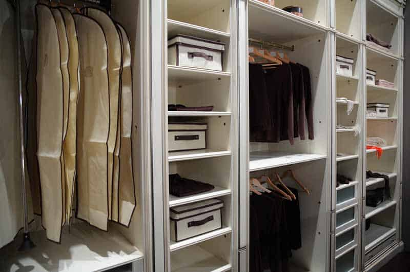 I'm the type to see this level of organization in your closet as overkill. Organizing your finances though? Good diea.