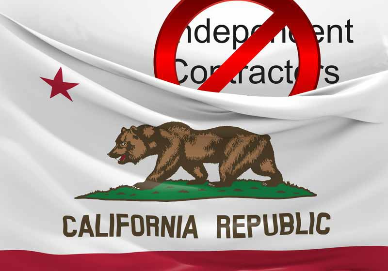Prop 22 is in response to AB5 which blocks the use of independent contractors by gig economy apps