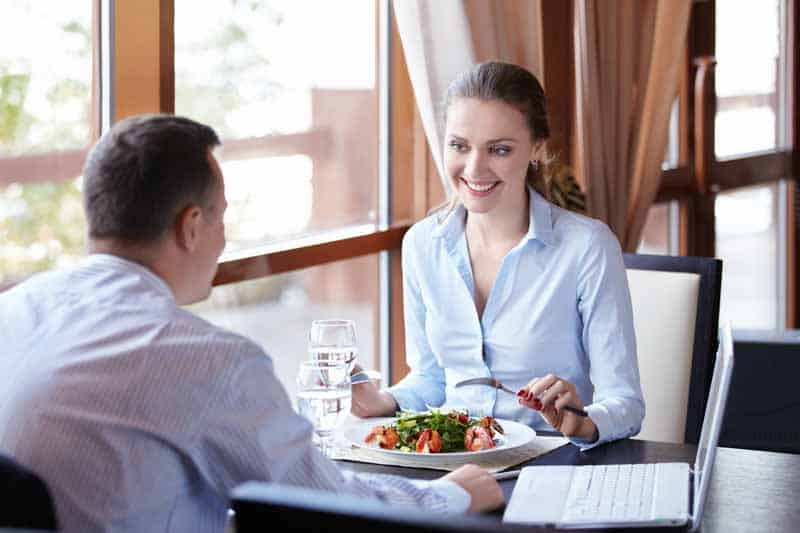 Meeting to discuss best practices or to recruit under a referral program can be considered a business lunch even as a driver for Doordash, Grubhub, Uber Eats, Instacart