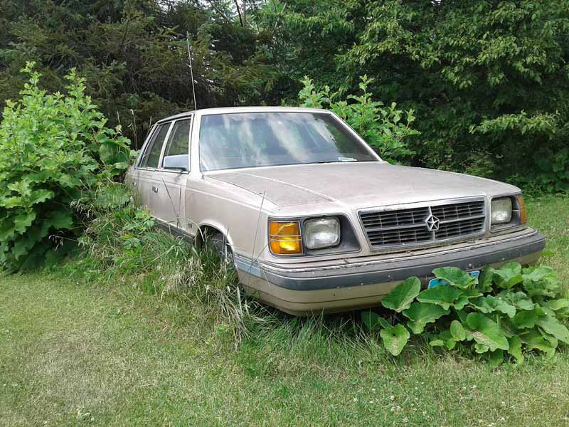 Picture of Plymouth Reliant K Car, in a lame attempt at humor based on the 1099-K discussion.
