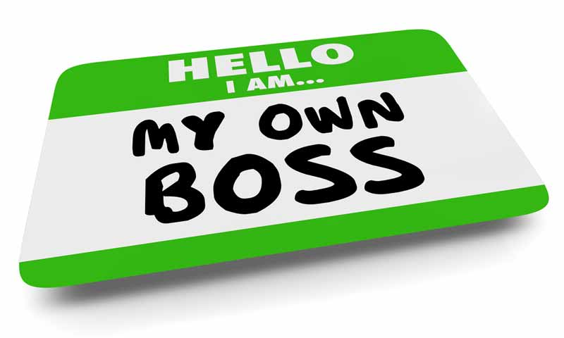 Being your own boss means paying the bosse's part of social security and medicare