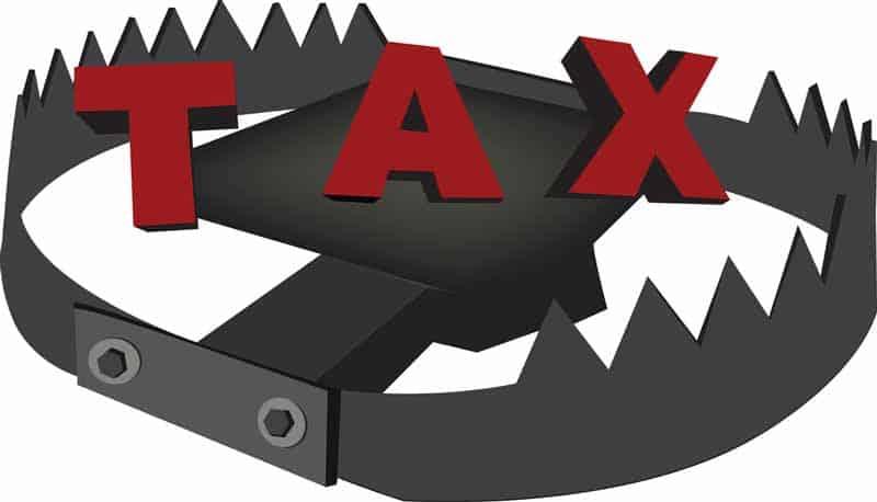Tax trap for those unprepared
