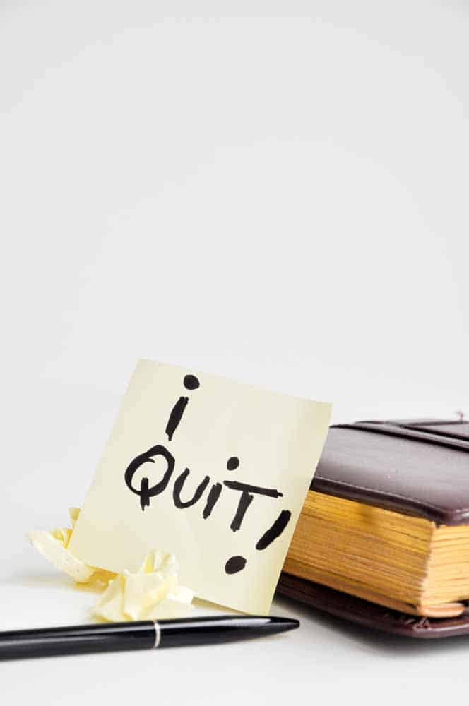 When you quit, you don't qualify for unemployment. Think about it: when you stop doing self employed work, it's not the same as being laid off because you were the one to make the decision