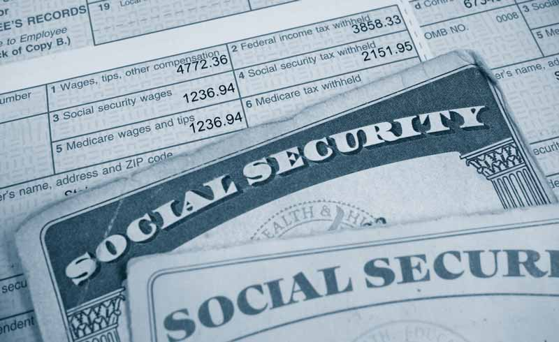 Tax withholding form and social security card for contractor who has an LLC taxed like an S-Corp
