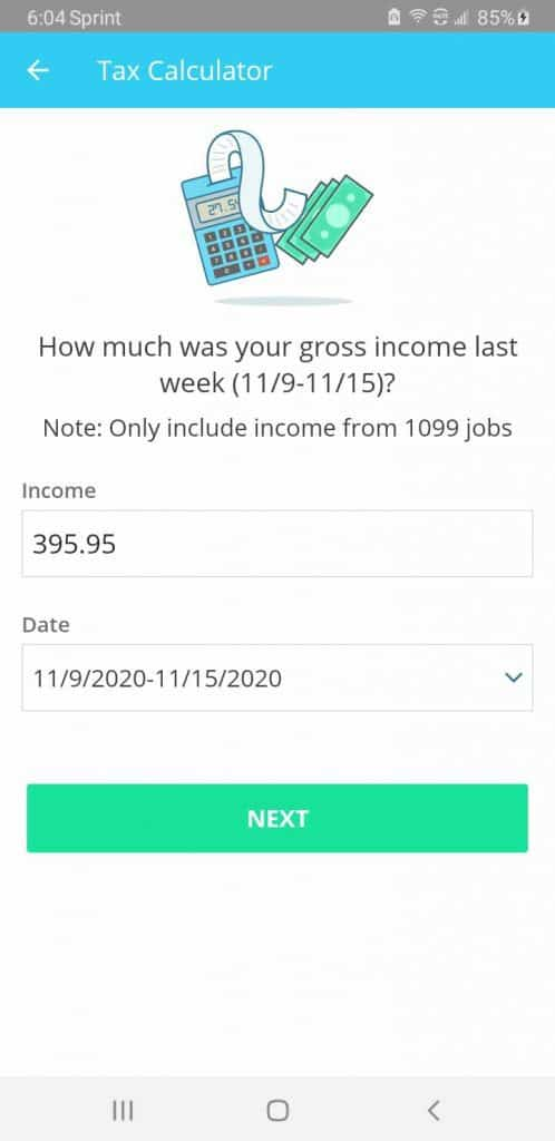 Stride tax income entry gives you no ability to mark who the income was from, nor can you enter more than one entry per week.
