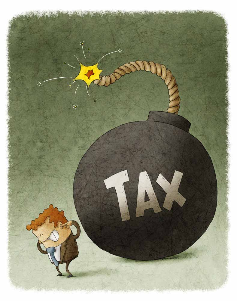 Taxes are a big time bomb for unprepared independent contractors.