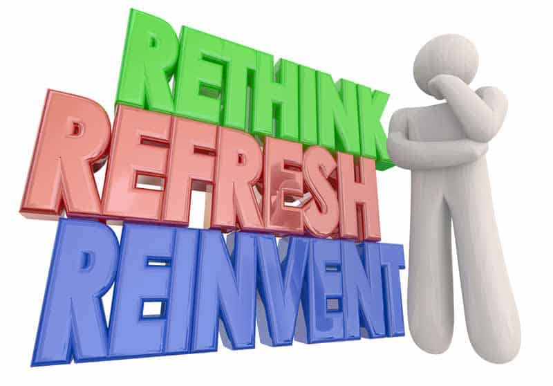 Always be willing to re-think and re-evaluate your business relationships