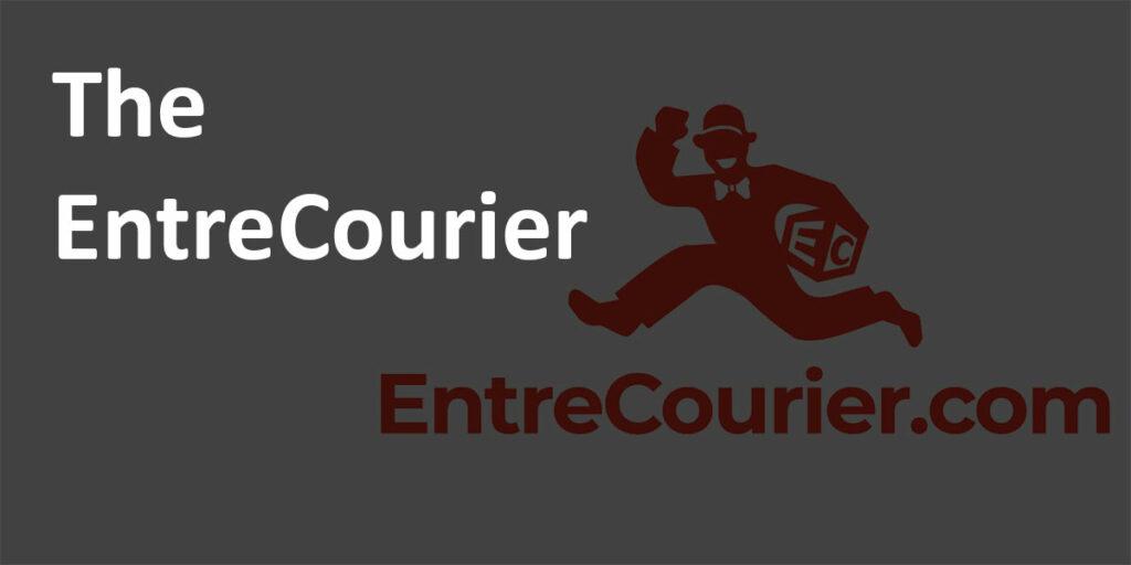 """Entrecourier.com logo with heading """"The EntreCourier."""""""