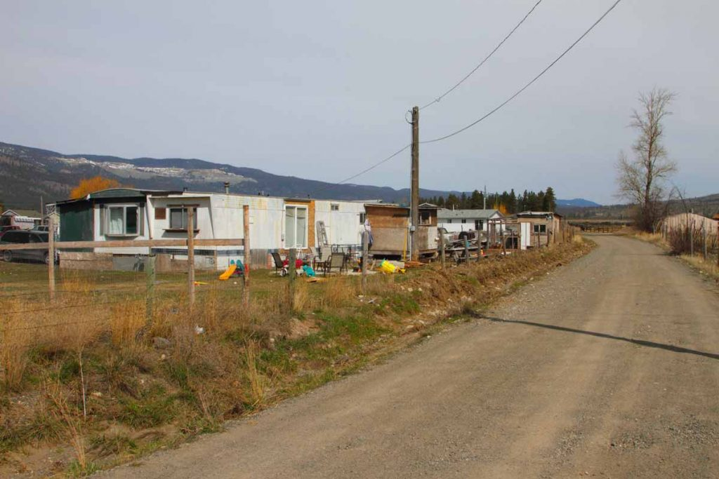 Run down trailers in a rural setting are often a mistaken concept of a low income community