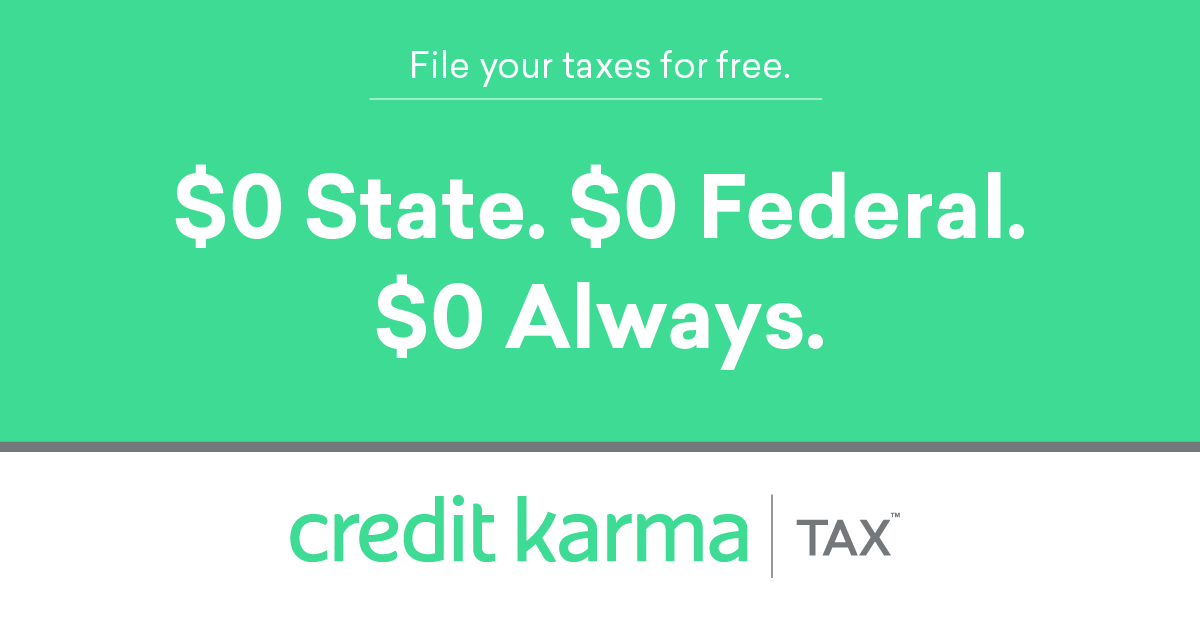 Free Tax Filing Online - $0 State/Federal | Credit Karma Tax�