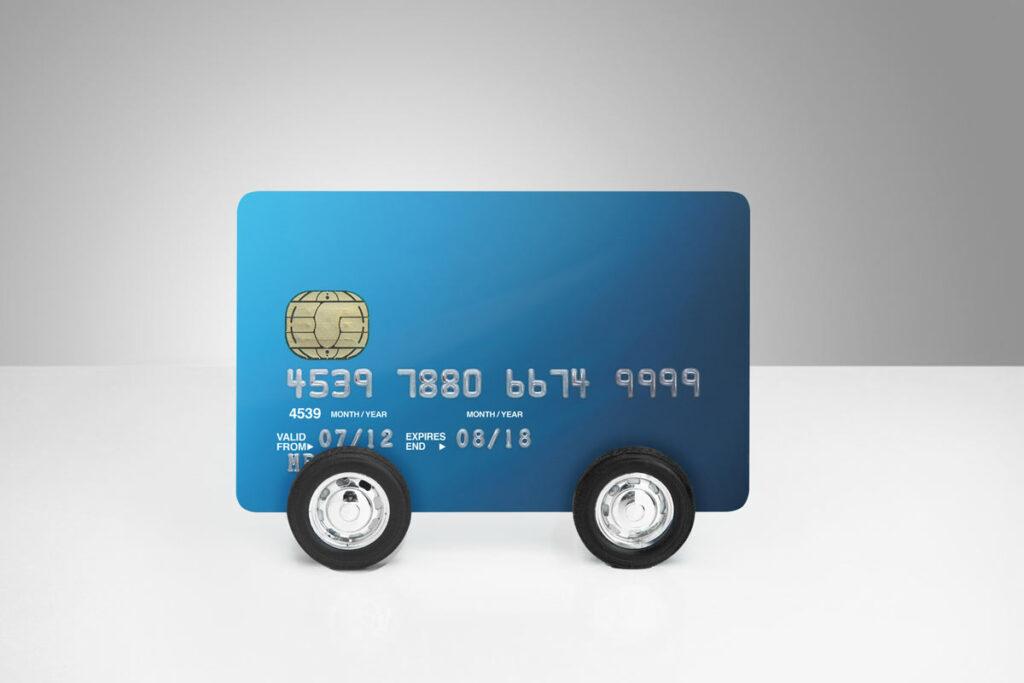 A credit card on wheels.