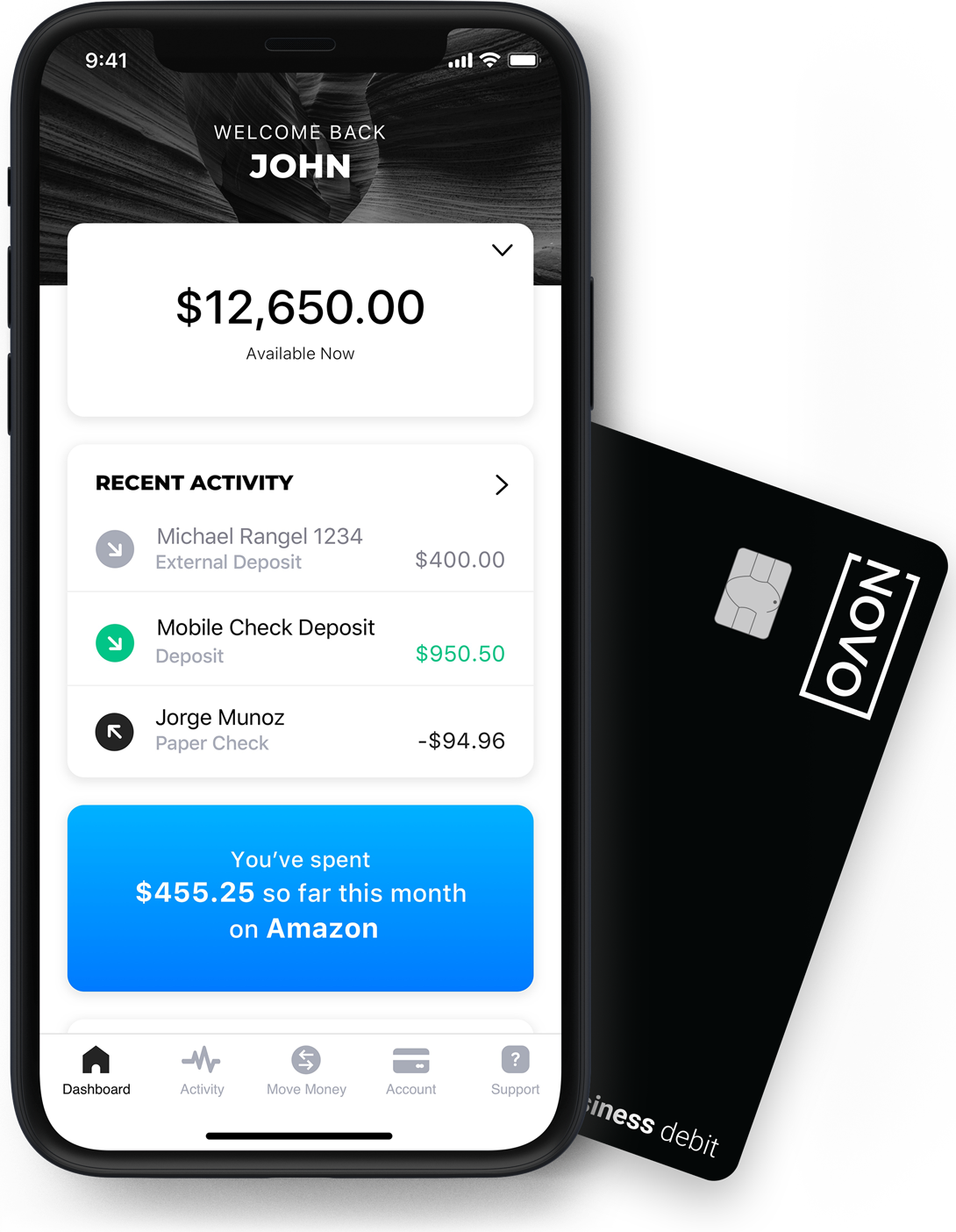 Novo | Powerfully Simple Business Banking